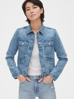 Gap Icon Denim Jacket with Flannel Lining