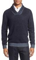 Nordstrom Men's Plaited Shawl Collar Sweater