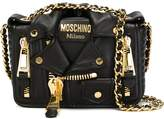 Moschino biker crossbody bag