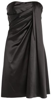 Dolce & Gabbana Draped Silk Mini Dress