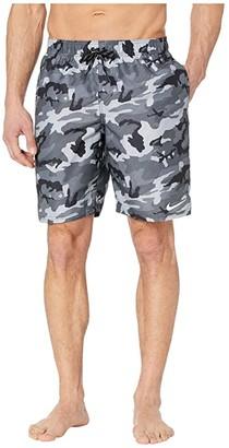 Nike 9 Camo Vital Volley Shorts (Black) Men's Swimwear