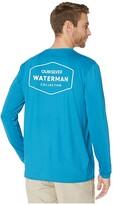 Quiksilver Waterman Gut Check Long Sleeve Rashguard (Celestial) Men's Clothing
