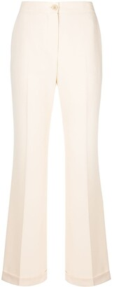 See by Chloe Straight-Leg Cropped Trousers