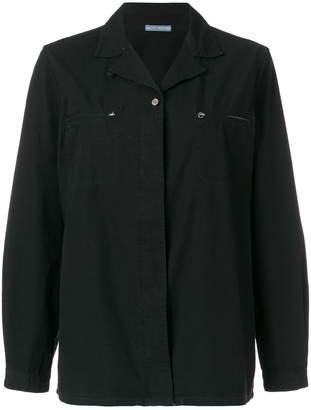 Prada Pre-Owned plain shirt
