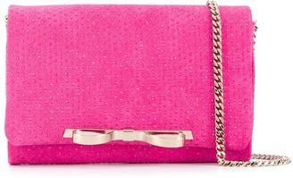 Red(V) Sandie rhinestone-embellished shoulder bag