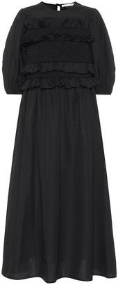 Cecilie Bahnsen Lesleigh cotton poplin midi dress