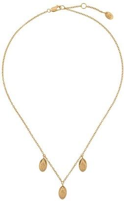 Northskull Three Saints Charm necklace