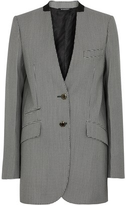 Givenchy Monochrome houndstooth-weave jacket