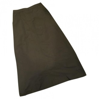 Green Cotton Non Signé / Unsigned Non Signe / Unsigned Skirts