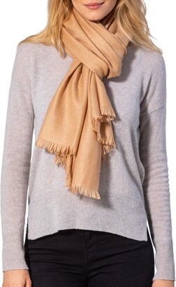 Amicale Solid Pashmina Scarf