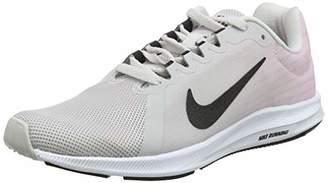 Nike Women's Downshifter 8 Running Shoes, Multicolour (Vast Grey/Black-Pink Foam-White 013)