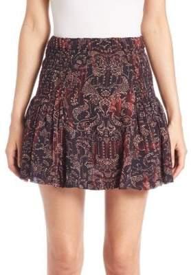 IRO Adele Printed Skirt