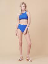Diane von Furstenberg High Waisted Bikini Bottom