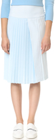 ADAM by Adam Lippes Pleat Front Skirt