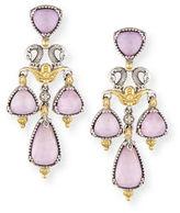 Konstantino Sterling Silver Doublet Chandelier Earrings