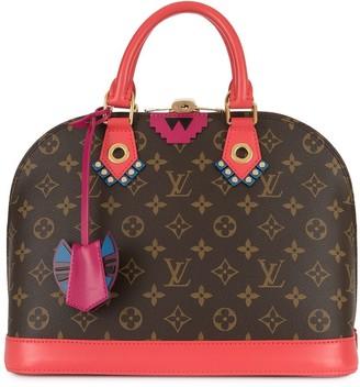 Louis Vuitton Alma monogram print handbag