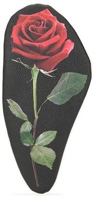 Undercover Rose Print Clutch Bag