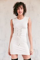 Silence & Noise Silence + Noise Muscle Tee Corset Dress