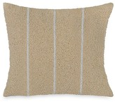 "Donna Karan Beaded Stripe Decorative Pillow, 12"" x 12"""