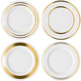 LSA International Deco Assorted Gold Dinner Plate