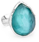Ippolita Sterling Silver Wonderland Teardrop Ring in Denim