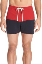 Saturdays NYC Men's Ennis Colorblock Swim Shorts