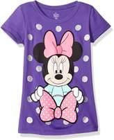 Disney Little Girls' Minnie Mouse Short Sleeve T-Shirt