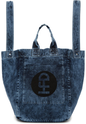 Honey Fucking Dijon Blue Denim Tote