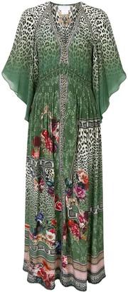 Camilla Smoked Waist Maxi Dress