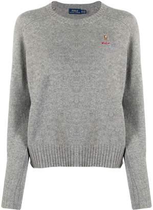 Polo Ralph Lauren embroidered logo jumper