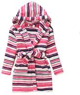 Evebright Kids Girls Soft Hooded Robe Cute Soft Touch Plush Bathrobes Age 4-9