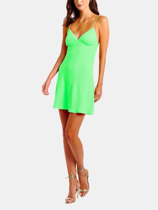 Amanda Uprichard Ashlyn Cutout Back Mini Dress