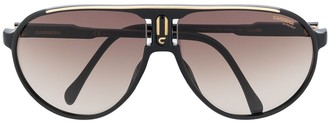 Carrera Oversized Aviator Sunglasses