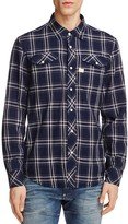 G Star Tacoma Plaid Regular Fit Button-Down Shirt