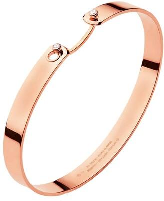 Nouvel Heritage 6mm Monday Morning GM Mood Bangle Rose Gold Bracelet