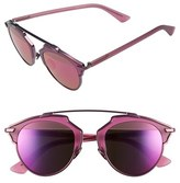 Christian Dior Women's 'So Real' 48Mm Sunglasses - Bronze/ Havana