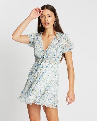 Atmos & Here Eva Ruffle Mini Dress