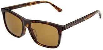 Gucci Men's Gg0381sa 56Mm Sunglasses