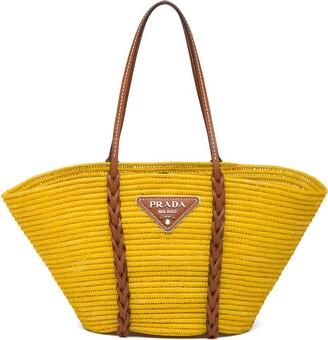 Prada Straw Tote Bag