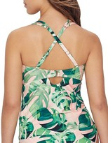 Birdsong Weekend Escape Underwire Wrap Tankini Top
