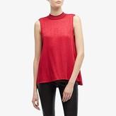 Rag & Bone Letti Sleeveless Blouse (Radish Pink) Women's Clothing