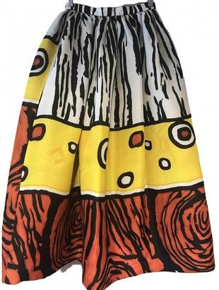 Christian Lacroix Multicolour Silk Skirt for Women Vintage