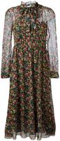 RED Valentino floral print long dress