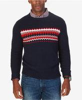 Nautica Men's Fair Isle Crew-Neck Sweater, Only at Macy's