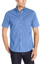 Dockers Short Sleeve Solid Cvc Woven Shirt