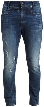 G Star Staq Slim Painted Jeans
