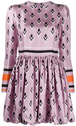 Valentino Signature geometric print dress