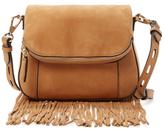 Rebecca Minkoff Crosby Mini Fringe Saddle Bag