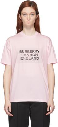 Burberry Pink Logo Ariana T-Shirt