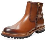 Antonio Maurizi Shearling Lined Double Zip Boot